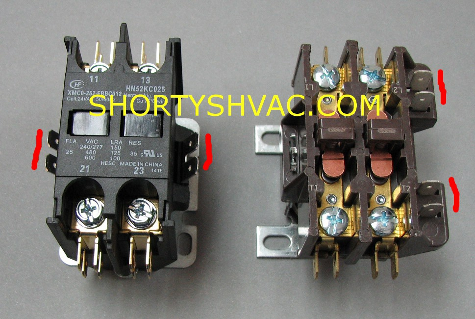 shortys tips helping do it yourself funace and air contactors can be purchased for do it yourself repairs from shortys hvac supplies if you are not sure of the correct part number please call or email us at